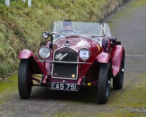 CM22 3120 Miss Alex Pilkington, Alfa Romeo 6C 1750