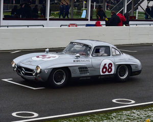 CM22 6757 David Coulthard, Mercedes Benz 300 SL, Gullwing