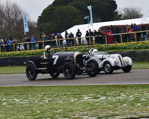 CM22 6824 Gareth Graham, Bentley Speed Model, Albert Otten, BMW 328