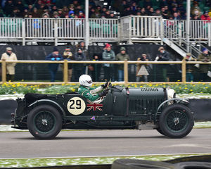 CM22 6831 Martin Overington, Bentley 4½ Litre Blower