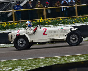 CM22 6850 Rupert Clevely, Alfa Romeo 8C 2300 Monza