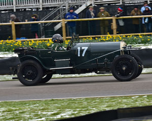 CM22 6851 Robert Fink, Bentley 3-4½ litre