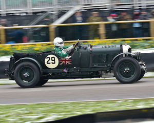 CM22 6884 Martin Overington, Bentley 4½ Litre Blower