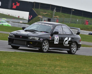 CM23 0440 Richard Senter, Karen Phillips, Subar Impreza WRX