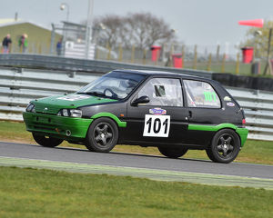 CM23 0885 Stephen Johnson, Peugeot 106