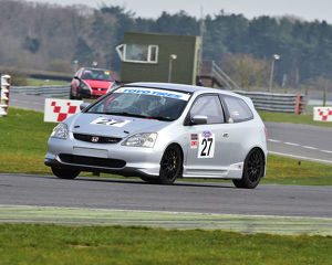 CM23 0928 James Slater, Richard Harman, Honda Civic Type R