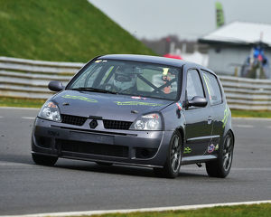 CM23 0975 Tom Mensley, Renault Clio 172