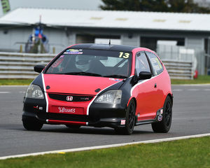 CM23 0988 Ray Copeman, Christopher Copeman, Honda Civic Type R