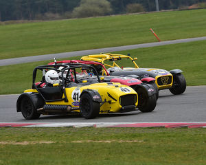 CM23 1107 Austen Greenway, Elite Motorsport Pulse, Greg Catton, Caterham R400, Chris