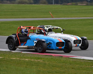 CM23 1133 Matthew Drew, Caterham Supersport, Harry Senior, Caterham Supersport