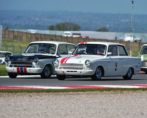 CM23 2342 Martin Strommen, Ford Lotus Cortina, Richard Dutton, Neil Brown, Ford Lotus
