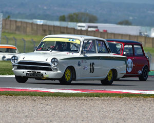 CM23 2345 David Tomlin, Martin Stretton, Ford Lotus Cortina
