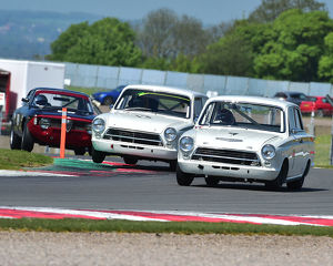 CM23 2381 Steve Soper, Ford Lotus Cortina, Andy Wolfe, Ford Lotus Cortina