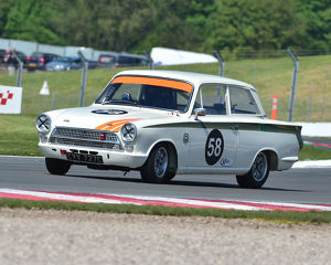 CM23 2462 Michael Steele, Ford Lotus Cortina