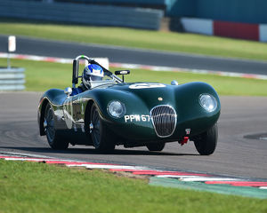 CM23 2575 John Brown, Malcolm Gammons, Jaguar C-Type
