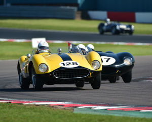 CM23 2580 David Cottingham, James Cottingham, Ferrari 500 TRC