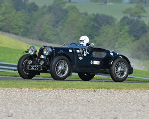 CM23 3480 David Ozanne, Aston Martin 2 litre speed model