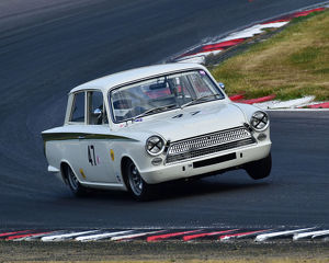 CM24 3414 Nigel Cox, Ford Lotus Cortina