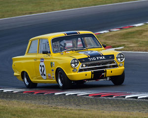 CM24 3429 Richard Belcher, Ford Lotus Cortina