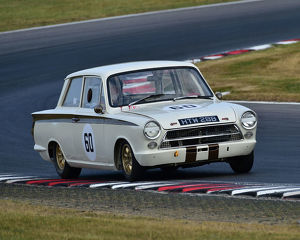CM24 3439 Norman Ricketts, Ford Lotus Cortina