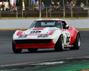 CM25 0654 Peter Hallford, Chevrolet Corvette