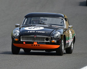 motorsport 2019/masters historic festival brands hatch 2019/cm28 0474 rob johnson ed barton hilton mgb