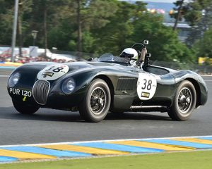 CM3 5693 Nicholas Finburgh, Robert Newall, Jaguar C-Type, PUR 120