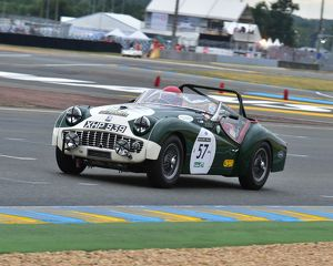 CM3 5956 Barry Sidery-Smith, John Sykes, Richard Bull, Neil Revington, Triumph TR3
