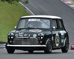 CM3 7225 Jason Brooks, Austin Mini Cooper S, AJM 711 A