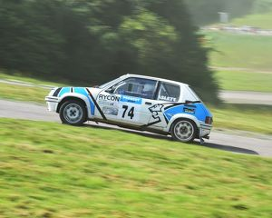 CM4 5096 Rob Aslett, Ashley Aslett, Peugeot 205 GTi, E255 AHR