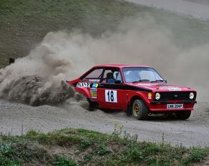 CM4 5526 James Slaughter, Tim Sayer, Ford Escort, LNK 204 P
