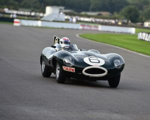CM4 9669 Andy Wallace, Jaguar D-Type Long Nose, 774 RW