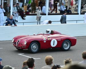 CM5 0373 Christopher Mann, Alfa Romeo 3000, Disco Volante, 160937 VE