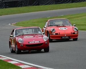 CM5 1753 Ian Burford, MG Lenham Le Mans, 696 BMO, Jason Williams, Porsche 911E, 90 URL