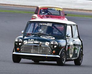 CM5 4521 Jason Brooks, Austin Mini Cooper S, AJM 711 A