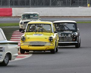 CM5 4556 Bob Bullen, Ford Anglia, Jason Brooks, Austin Mini Cooper S