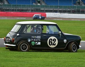 CM5 4630 Jason Brooks, Austin Mini Cooper S, AJM 711 A