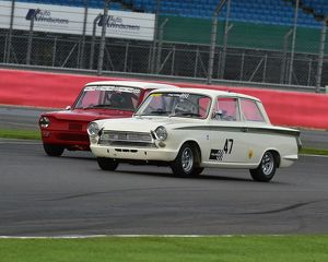 CM5 4636 Nigel Cox, Ford Lotus Cortina