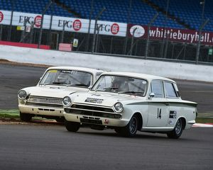 CM5 4659 John Spiers, Ford Lotus Cortina, Nigel Cox, Ford Lotus Cortina