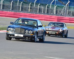 CM6 0846 Andrew Galashan, Bentley Continental T, Paul Stafford, Datsun 240Z