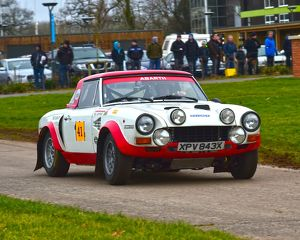 CM6 1101 Mick Wood, Fiat Abarth 124 rally
