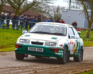 CM6 1173 Duncan Waite, Keith Garton, Ford Sierra RS500
