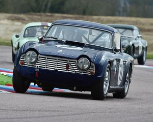 CM6 8007 Allan Ross-Jones, Triumph TR4