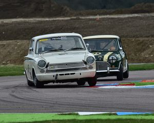 CM6 8353 Nigel Cox, Ford Lotus Cortina