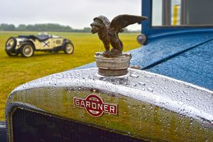 CM8 5831 Gardner, radiator badge and Griffin