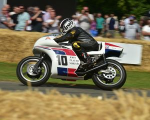 CM8 8423 Robert Sewell, Norton F750, Spaceframe