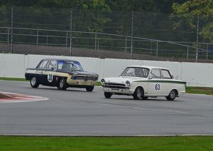 Colin Kingsnorth, BMW 1800 TiSA, Graham Pattle Ford Lotus Cortina