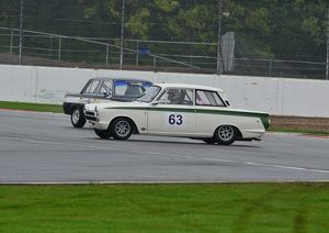 Colin Kingsnorth, BMW 1800 TiSA, Graham Pattle Ford Lotus Cortina.