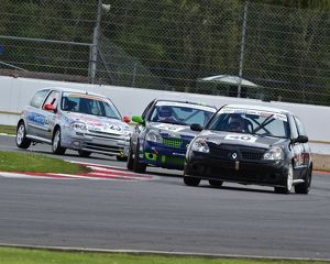 Ian Collins, Simon Smith, Renault Clio, Robert Chase, Renault Clio 172, Paul Anderton