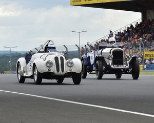 Jean-Jacques Bally, Bertrand Leseur, BMW 328, Paul Wybrow, Gary Weston, Martin Doherty